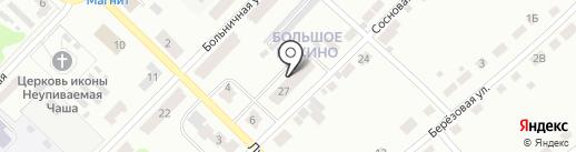Большепикинская амбулатория на карте Бора