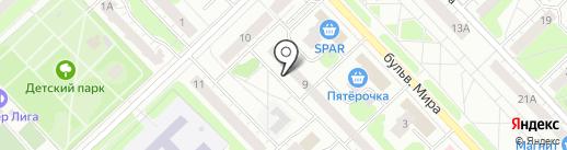 Адвокатская контора №8 на карте Кстово