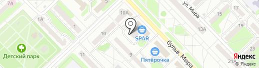 Банкомат, АКБ САРОВБИЗНЕСБАНК на карте Кстово