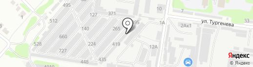Рассвет-НН на карте Кстово