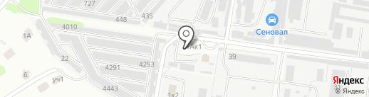АЗС на карте Кстово