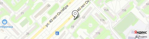 Лит.Ra на карте Кстово