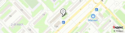 Магазин по продаже фастфуда на карте Кстово