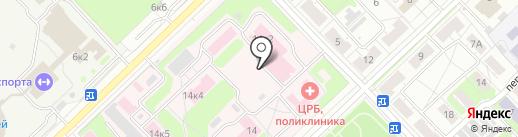 Родильный дом на карте Кстово
