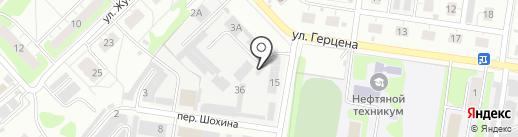 Pit stop на карте Кстово