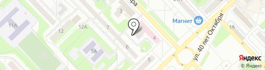 Юничел на карте Кстово