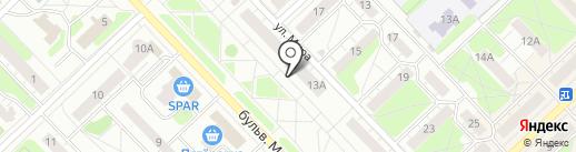 Бытовик на карте Кстово