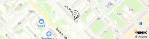 МясновЪ на карте Кстово