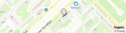 Банкомат, Газпромбанк на карте Кстово