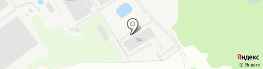 Тубор на карте Бора