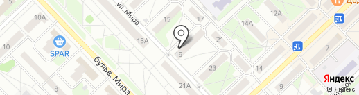 Магазин ивановского текстиля на карте Кстово