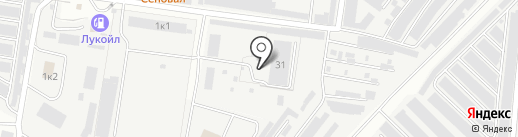 Приосколье на карте Кстово