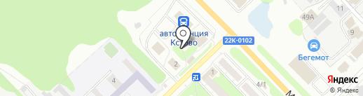 Магазин продуктов на карте Кстово
