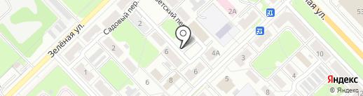 Колосок на карте Кстово