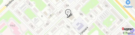 Родник на карте Кстово