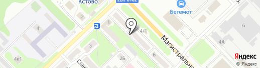 Индустрия окон на карте Кстово