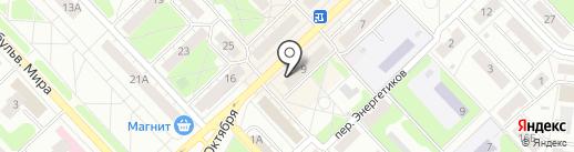 Идеал на карте Кстово