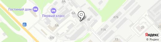 КУБ на карте Кстово