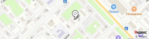 Комплекс-строй на карте Кстово