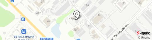 ТехКомИнвест на карте Кстово