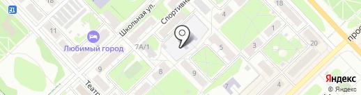Детский сад №4 на карте Кстово