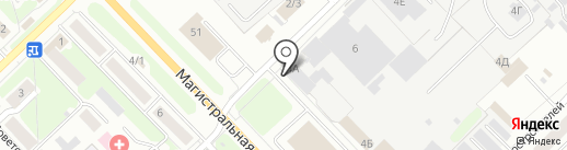 Квадратный метр на карте Кстово