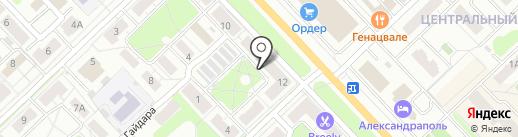 Аккумуляторы.рф на карте Кстово