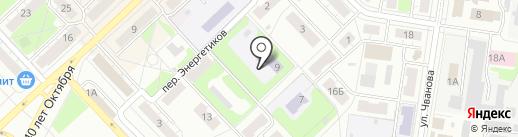 Детский сад №21 на карте Кстово