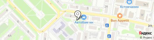 Центр Кадастровых Работ и Операций с Недвижимостью на карте Кстово
