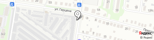 Южный на карте Кстово