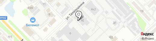 ФоксТанк на карте Кстово
