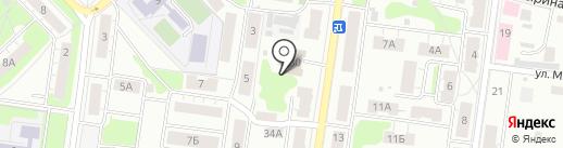 СГА на карте Кстово