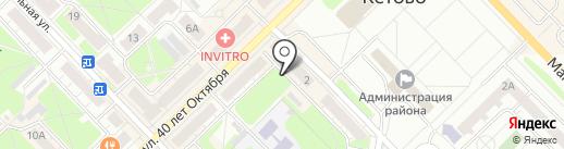 ГАЗ детали машин на карте Кстово