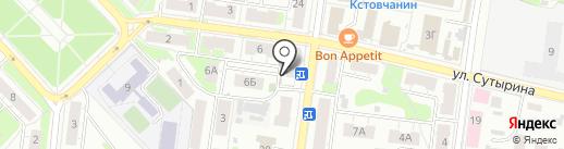 Ремонтная мастерская на карте Кстово