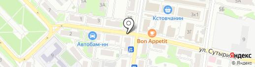 Лакомкa на карте Кстово