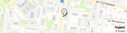 Динго на карте Кстово