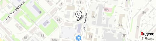 Магазин товаров для спорта на карте Кстово
