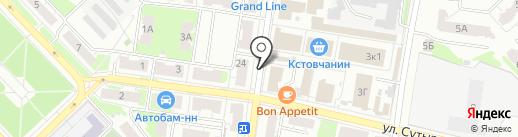САН РЕМО на карте Кстово