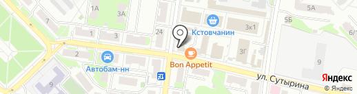 Нижегородский аптечный дом на карте Кстово