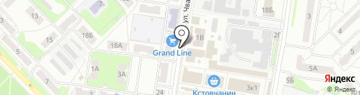 Магазин чая и кофе на карте Кстово