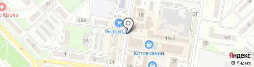 Полимерснаб на карте Кстово