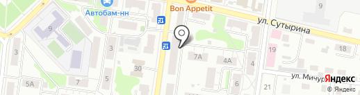Сфера на карте Кстово