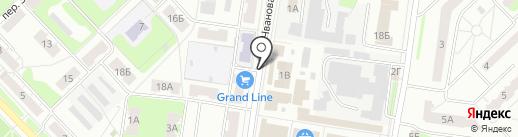 Магазин одежды на карте Кстово