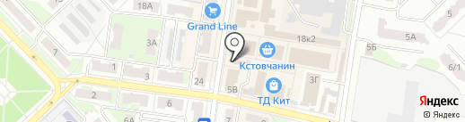 Пивоман на карте Кстово