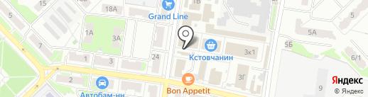 Мастер на карте Кстово