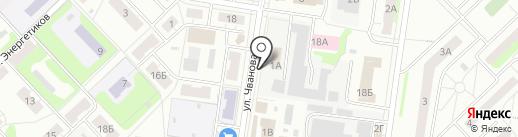 НижегородЭнергоГазРасчет на карте Кстово
