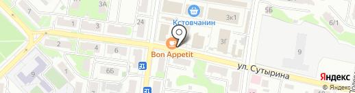 Хозмаркет на карте Кстово