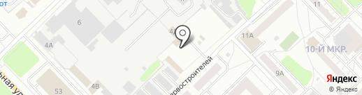 Магазин автотоваров на карте Кстово