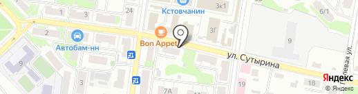 Пресса для всех на карте Кстово