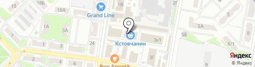 Магазин посуды на карте Кстово